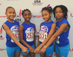 Post image for Spectacular Showing at the 2014 USATF Northeast Zone Youth Indoor Championship by Tsunami Athletes
