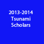 Post image for Tsunami Scholars – School Year 2013-2014